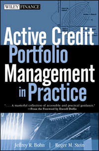 Roger Stein M. - Active Credit Portfolio Management in Practice