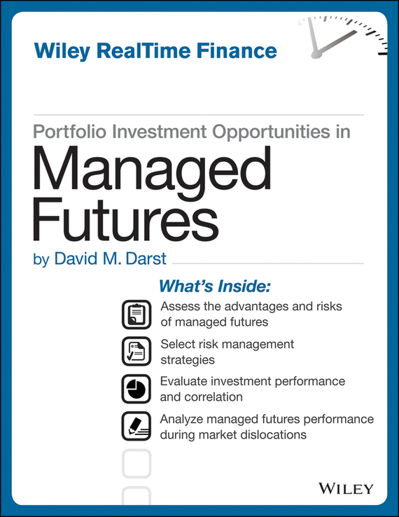 David M. Darst Portfolio Investment Opportunities in Managed Futures agricultural commodity futures in india