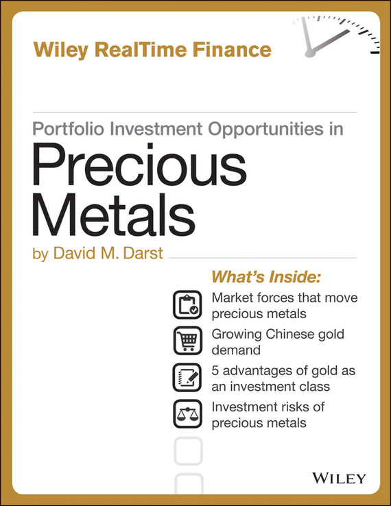 цены David M. Darst Portfolio Investment Opportunities in Precious Metals ISBN: 9781118503010