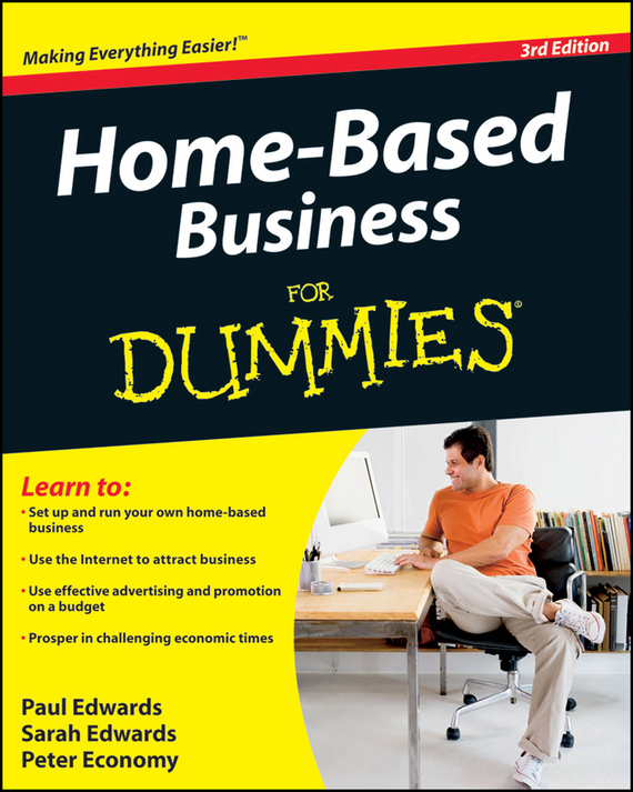 Peter  Economy Home-Based Business For Dummies kate shoup starting an etsy business for dummies