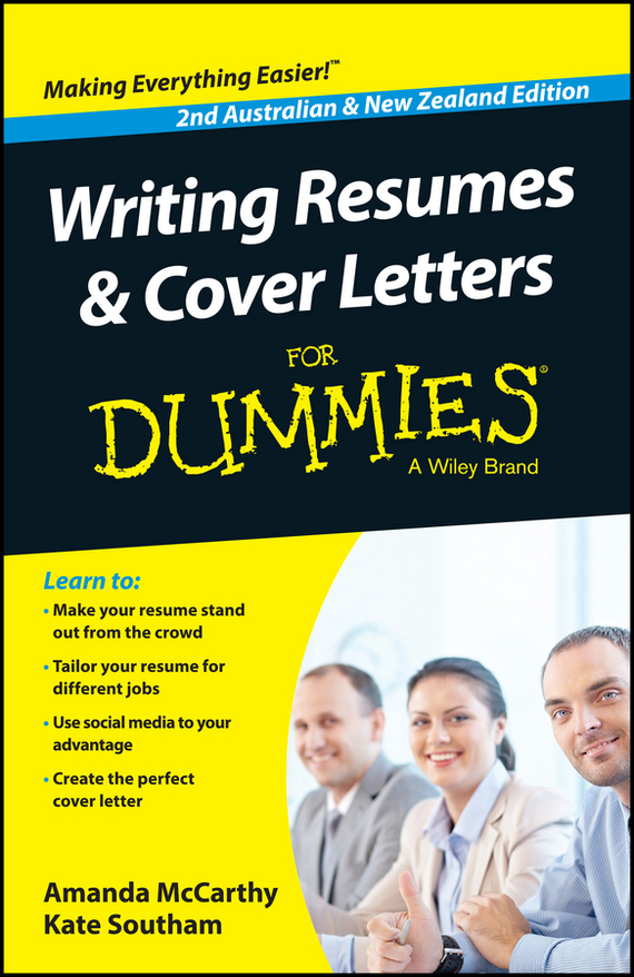 Amanda  McCarthy Writing Resumes and Cover Letters For Dummies - Australia / NZ