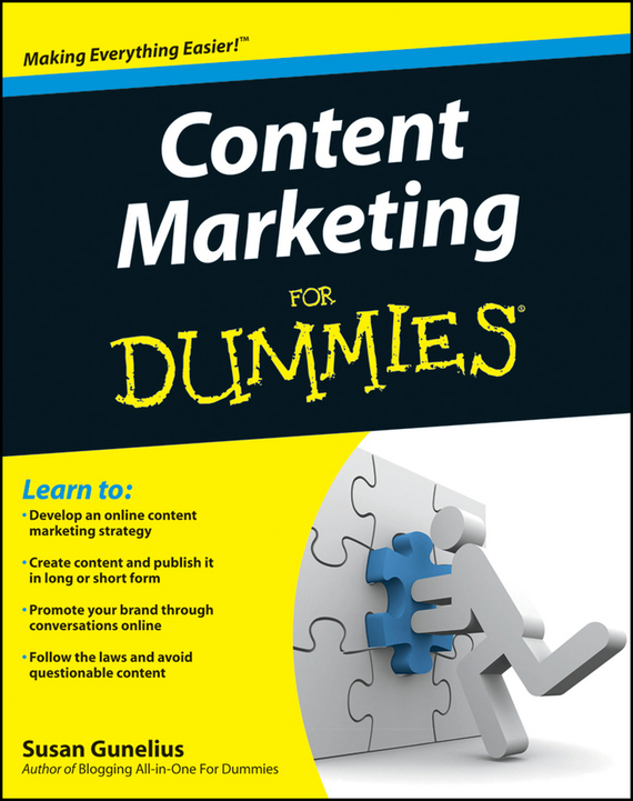 Susan Gunelius Content Marketing For Dummies customer oriented marketing strategy theory and practice