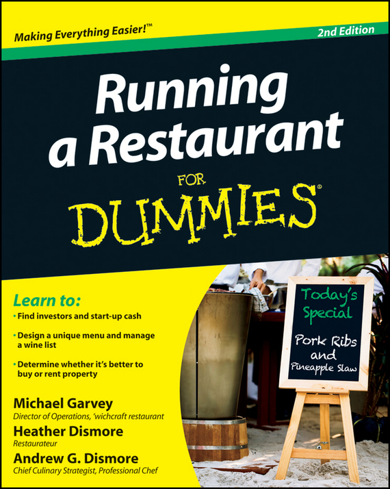 Heather Dismore Running a Restaurant For Dummies ISBN: 9781118152577 лонгслив modis modis mo044ebaxxu8