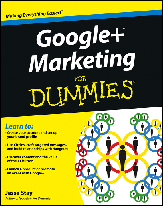 Jesse Stay Google+ Marketing For Dummies mark durieux social entrepreneurship for dummies