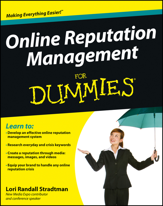 Lori Stradtman Randall Online Reputation Management For Dummies
