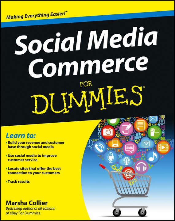 Marsha  Collier Social Media Commerce For Dummies marsha collier making money on ebay for dummies