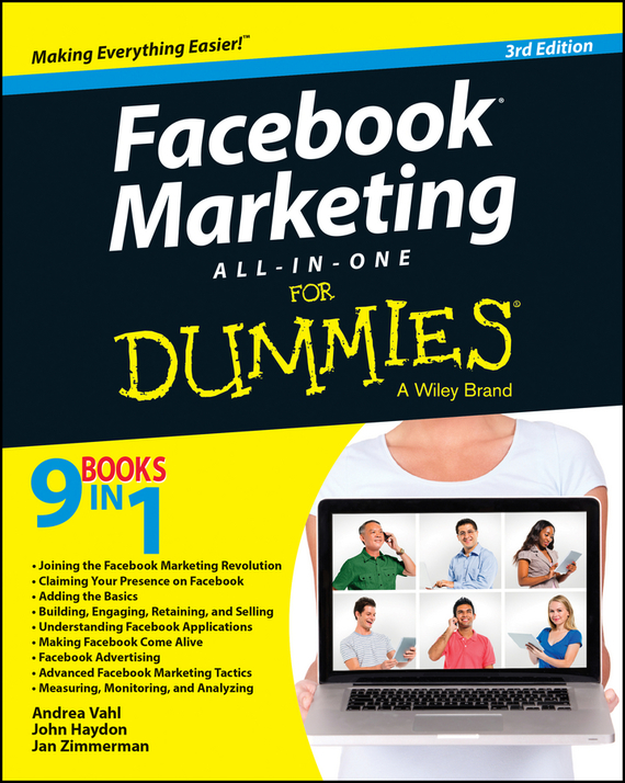 Jan Zimmerman Facebook Marketing All-in-One For Dummies bruce clay search engine optimization all in one for dummies