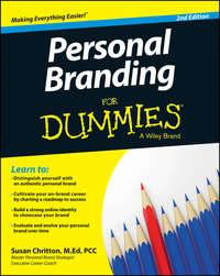 Susan  Chritton - Personal Branding For Dummies
