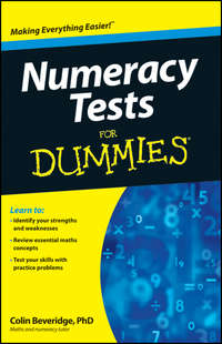 Colin  Beveridge - Numeracy Tests For Dummies