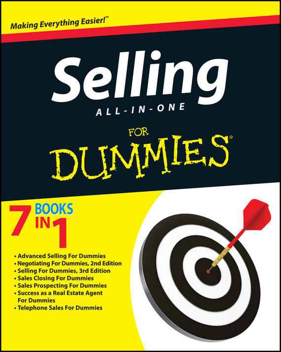 Consumer Dummies Selling All-in-One For Dummies the power of benefits selling