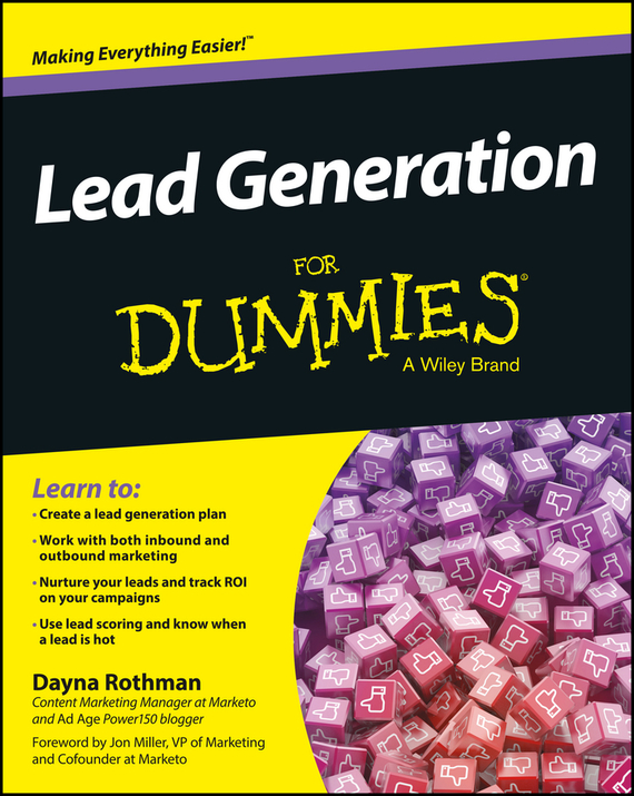 Dayna  Rothman Lead Generation For Dummies bob negen marketing your retail store in the internet age