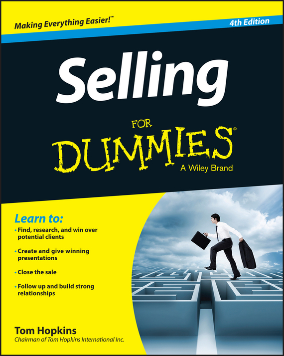 Tom  Hopkins Selling For Dummies the power of benefits selling