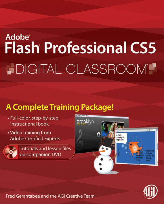 Fred Gerantabee Flash Professional CS5 Digital Classroom jeremy osborn html5 digital classroom book and video training
