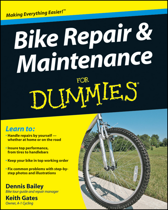 Dennis Bailey Bike Repair and Maintenance For Dummies ISBN: 9780470480342 taag