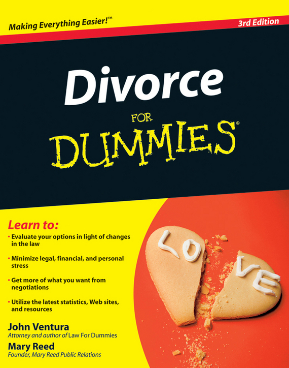 John Ventura Divorce For Dummies ISBN: 9780470485354 цена