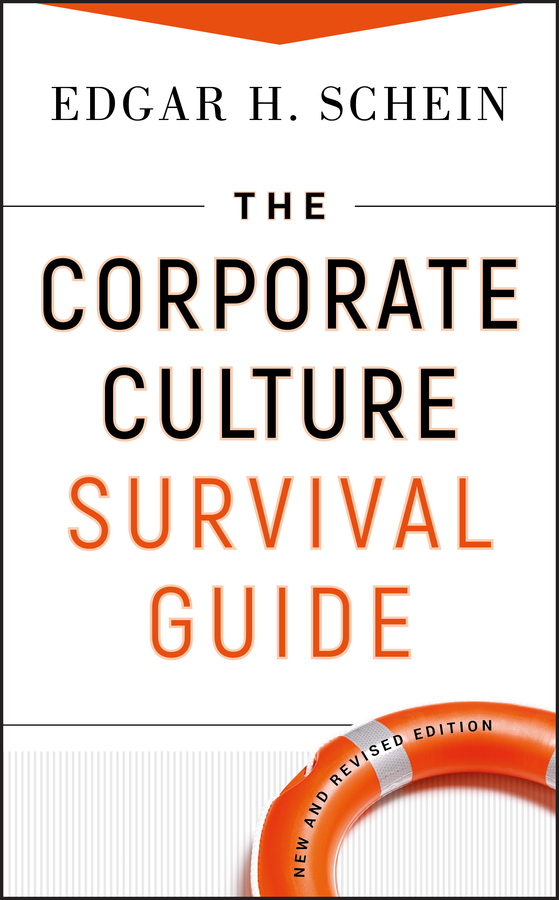 Edgar Schein H. The Corporate Culture Survival Guide technology based employee training and organizational performance