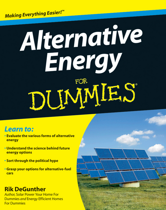 Rik  DeGunther Alternative Energy For Dummies люстра на штанге citilux астра cl138161