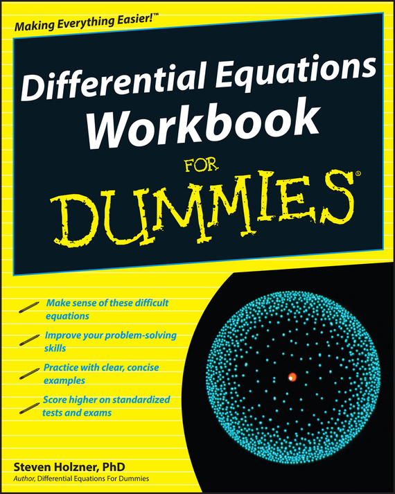 Steven Holzner Differential Equations Workbook For Dummies купить