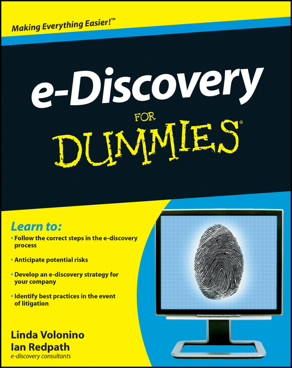 Ian  Redpath. e-Discovery For Dummies