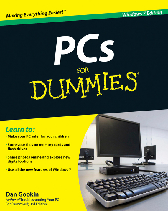 Dan Gookin PCs For Dummies windows 7 elearning kit for dummies