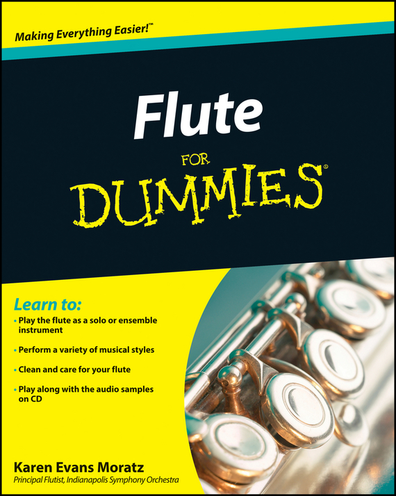 Karen Moratz Evans Flute For Dummies wholesale inventory students 16 hole plus the e key the obturator flute instrument black body silver grant