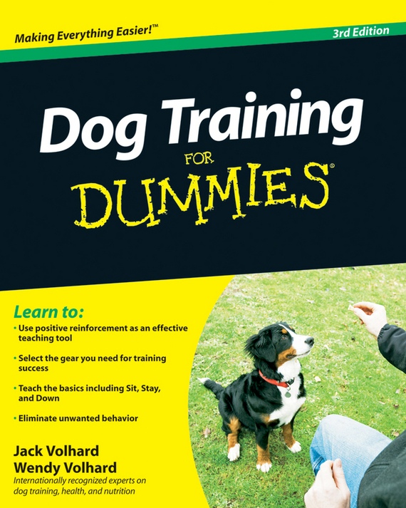 Jack Volhard Dog Training For Dummies
