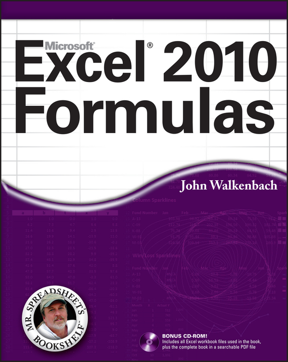 John  Walkenbach Excel 2010 Formulas more level 3 student s book with cyber homework cd rom