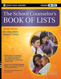 Tamara Davis E. - The School Counselor's Book of Lists
