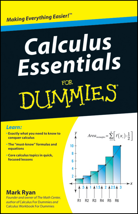 Mark Ryan Calculus Essentials For Dummies mark ryan calculus for dummies