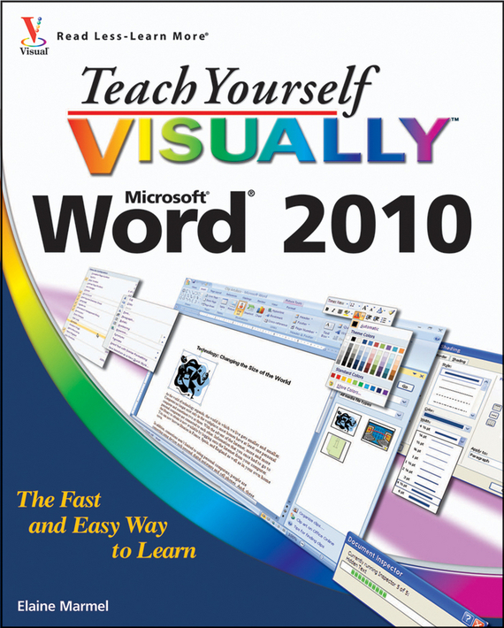 Elaine  Marmel Teach Yourself VISUALLY Word 2010 william wood teach yourself visually powerpoint 2013