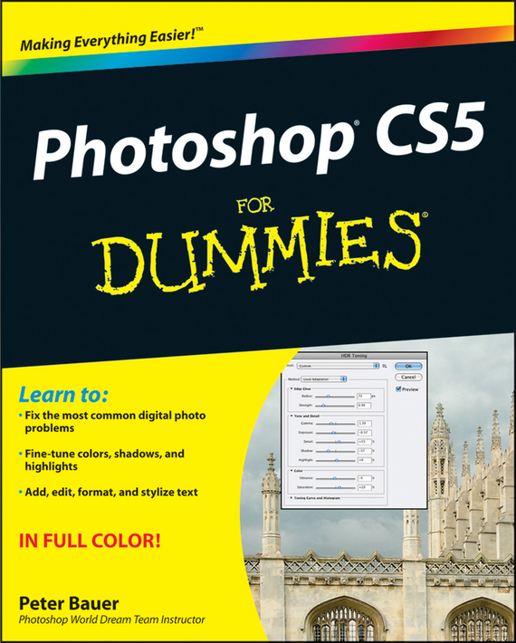 Peter  Bauer Photoshop CS5 For Dummies barbara obermeier photoshop elements 2018 for dummies