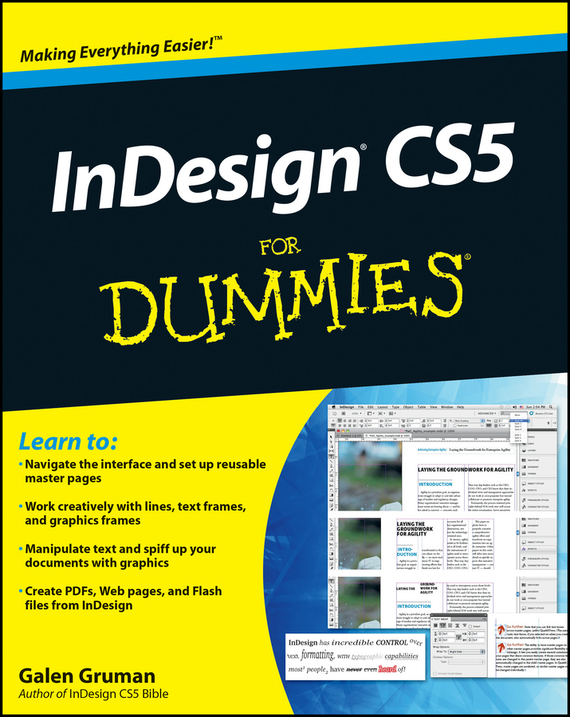 Galen Gruman. InDesign CS5 For Dummies