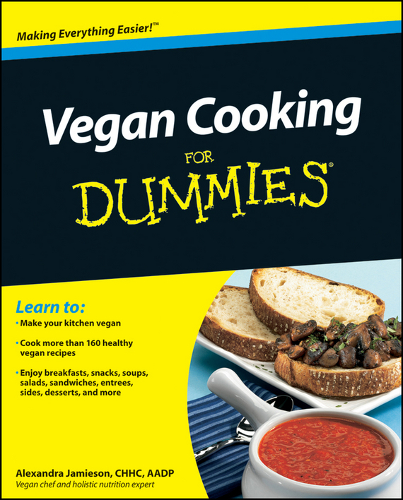 Alexandra Jamieson Vegan Cooking For Dummies