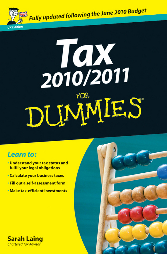 Sarah Laing Tax 2010 / 2011 For Dummies ISBN: 9780470664995 3w 3 led red
