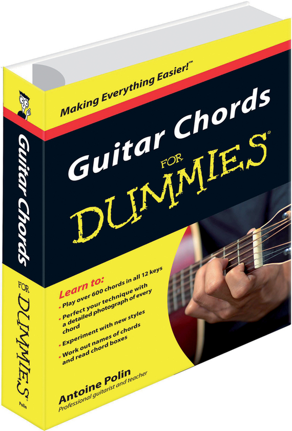 Antoine  Polin Guitar Chords for Dummies jon chappell rock guitar for dummies®