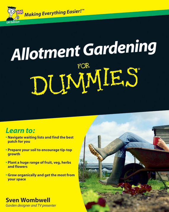 Sven Wombwell Allotment Gardening For Dummies 1pcs serial ata sata 4 pin ide to 2 of 15 hdd power adapter cable hot worldwide