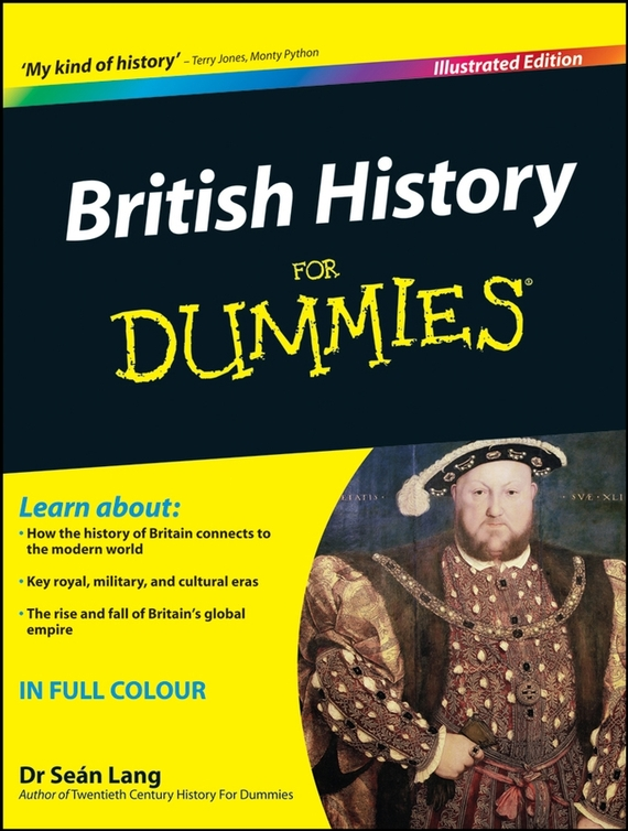 Sean  Lang British History For Dummies виниловые обои limonta sonetto 85819