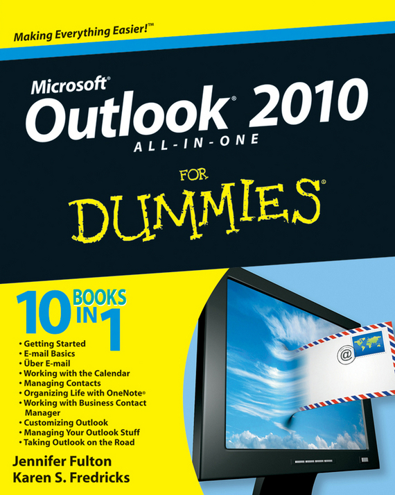 Jennifer  Fulton Outlook 2010 All-in-One For Dummies consumer dummies managing your money all in one for dummies