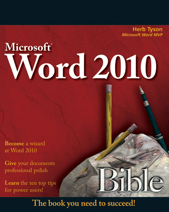 Herb  Tyson Word 2010 Bible woodwork a step by step photographic guide to successful woodworking