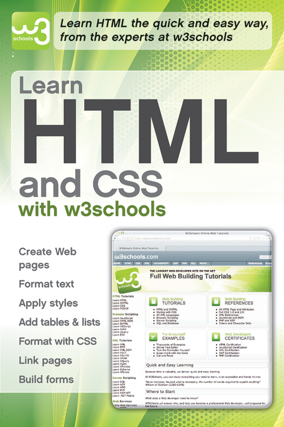 W3Schools Learn HTML and CSS with w3Schools ISBN: 9780470880876 relation extraction from web texts with linguistic and web features