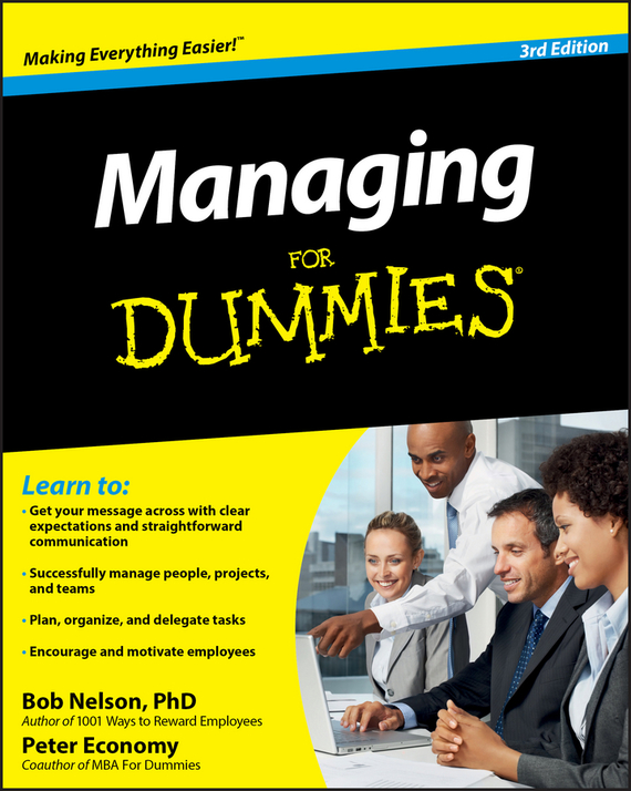 Peter  Economy Managing For Dummies chip espinoza managing the millennials discover the core competencies for managing today s workforce