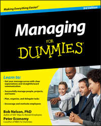 Peter  Economy - Managing For Dummies