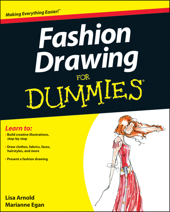 Lisa Arnold Fashion Drawing For Dummies ISBN: 9780470887622 how to draw noir comics