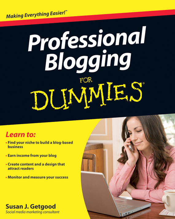 Susan Getgood J. Professional Blogging For Dummies deborah rumsey j statistics ii for dummies