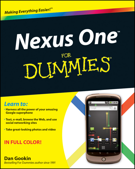 Dan Gookin Nexus One For Dummies handbook of the exhibition of napier relics and of books instruments and devices for facilitating calculation