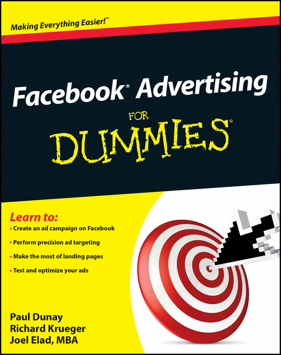 Joel  Elad Facebook Advertising For Dummies покрывало les gobelins накидка на кресло ete indien 50х160 см