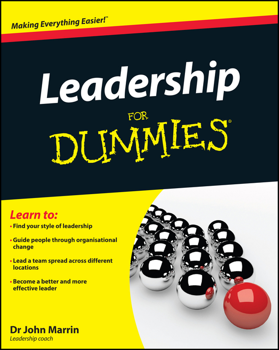 John  Marrin Leadership For Dummies complete how to be a gardener