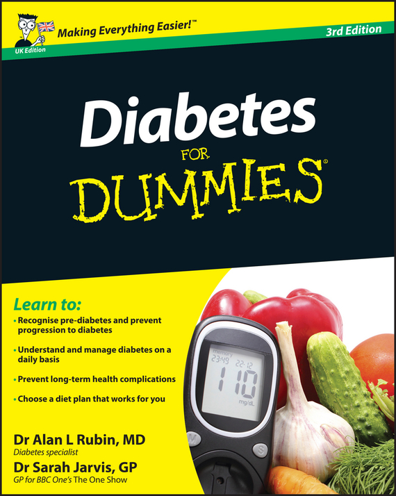 Sarah Jarvis Diabetes For Dummies ISBN: 9780470977545 alan l rubin diabetes for dummies