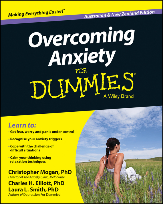 Christopher  Mogan Overcoming Anxiety For Dummies – Australia / NZ dave austin songwriting for dummies