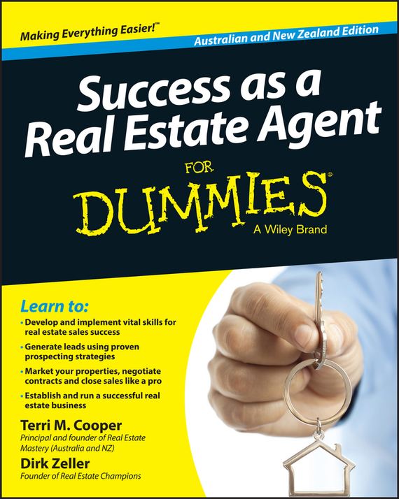 Dirk  Zeller Success as a Real Estate Agent for Dummies - Australia / NZ dirk zeller success as a real estate agent for dummies australia nz